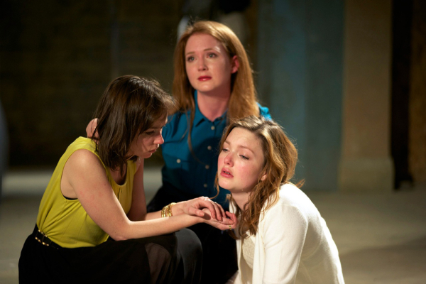 Emily Taaffe, Olivia Hallinan and Holliday Grainger in Three Sisters