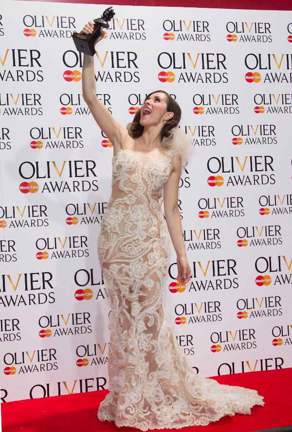 Zrinka Cvitesic at the Olivier Awards