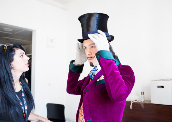 Alex Jennings prepares for his Oliviers performance