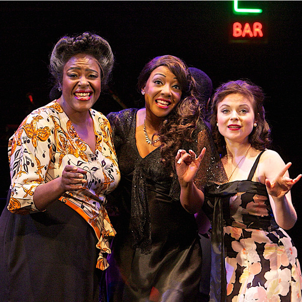Sharon D Clarke, Paulette Ivory and Gemma Sutton