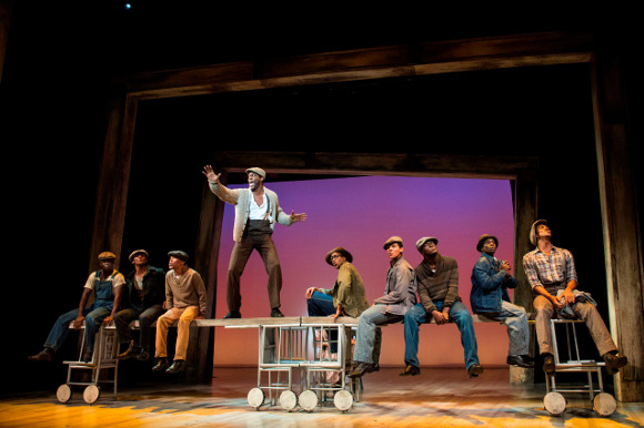 On the move: The Scottsboro Boys at the Young Vic