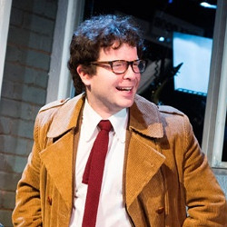 Damian Humbley in Merrily We Roll Along