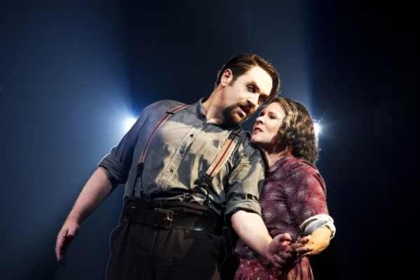 Michael Ball and Imelda Staunton in the Chichester Festival Theatre production of Sweeney Todd