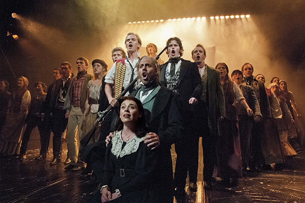 The 2014 cast of Les Miserables