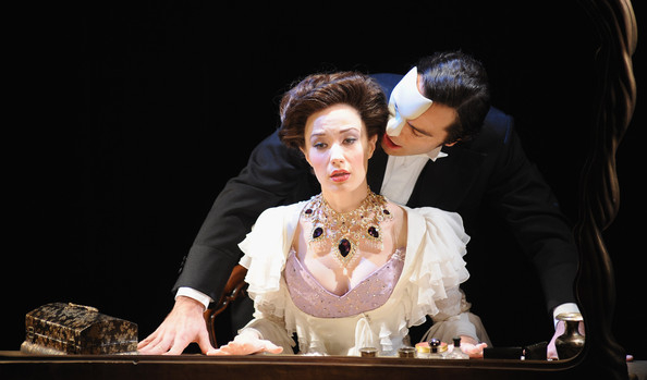 Sierra Boggess and Ramin Karimloo in Love Never Dies