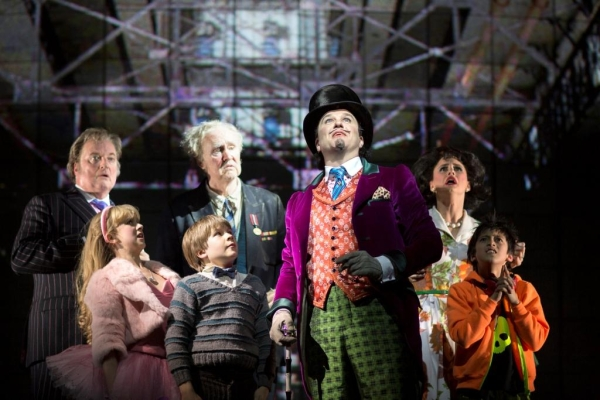 Douglas Hodge, Nigel Planer and cast of Charlie and the Chocolate Factory