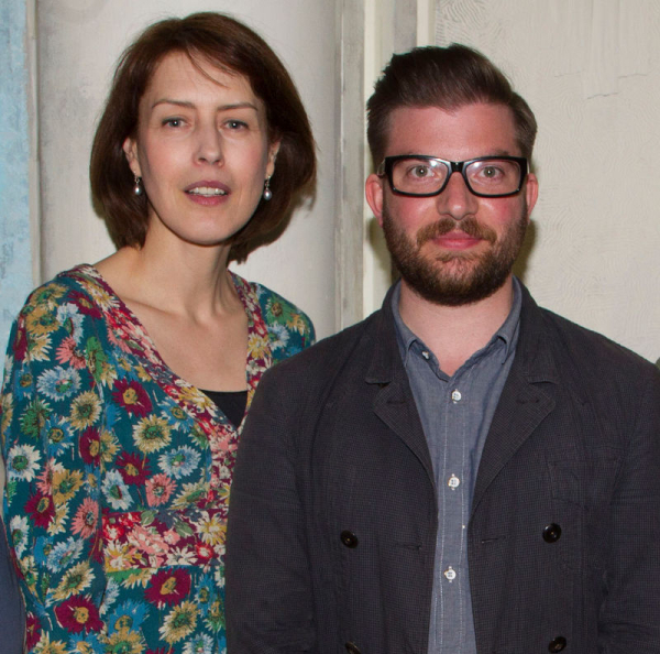 Gina McKee with Jamie Lloyd in 2013
