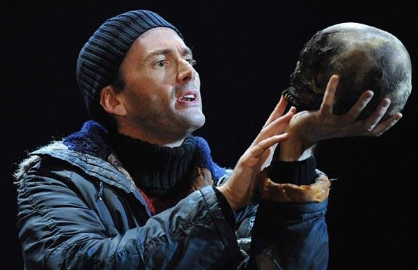 David Tennant in the RSC production of Hamlet
