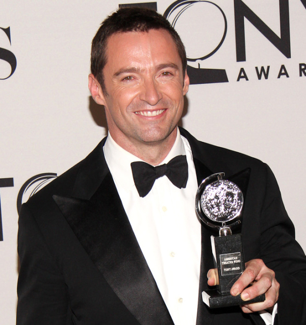 Hugh Jackman at last year's Tony Awards