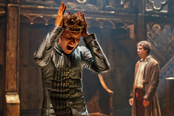 Eddie Redmayne in the Donmar Warehouse production of Richard II