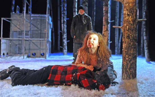 The National Theatre of Scotland production of Let the Right One In at the Royal Court Theatre