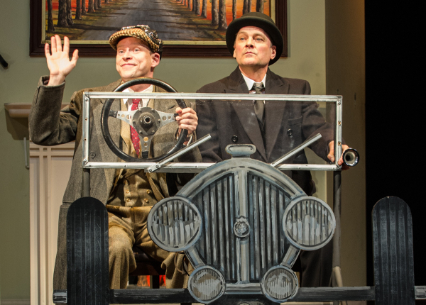 Robert Webb and Mark Heap in Jeeves & Wooster in Perfect Nonsense at the Duke of York's Theatre