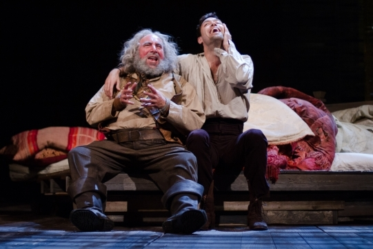 With Antony Sher as Falstaff