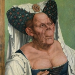 'The Ugly Duchess' by Quentyn Matsys (1513)