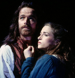 Iain Glen and Juliette Caton in Martin Guerre