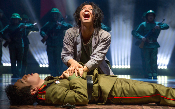 A scene from Miss Saigon at the Prince Edward
