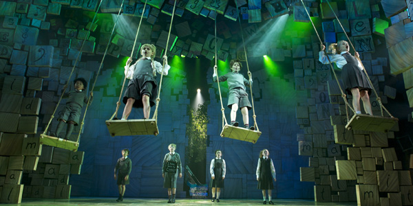 Swing when you're winning: Warchus' production of Matilda the Musical