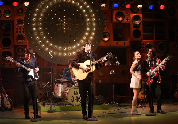 John Dagleish and the cast of Sunny Afternoon