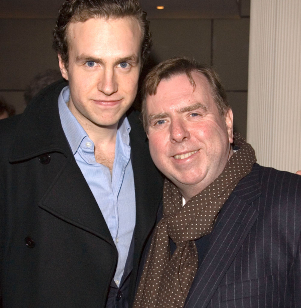 Timothy Spall with son Rafe