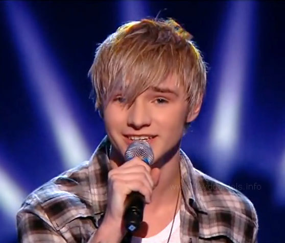 Lloyd Daniels on X Factor in 2009