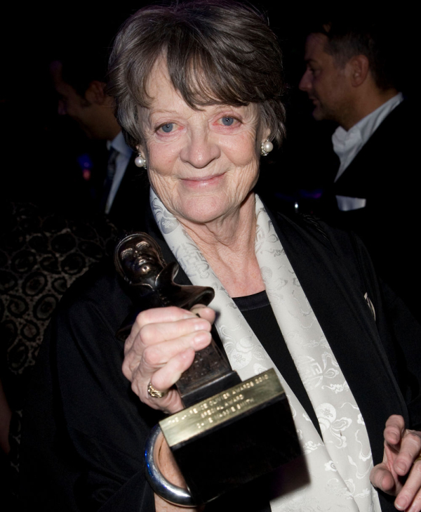 Maggie Smith at the 2010 Olivier Awards