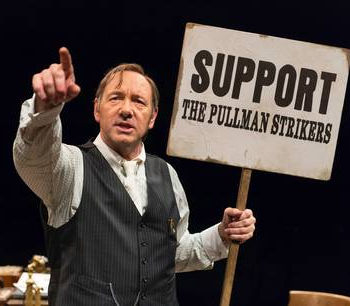 'Furious energy': Spacey as Clarence Darrow