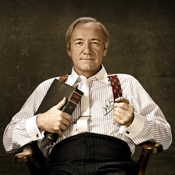 Not amused: Kevin Spacey as Clarence Darrow