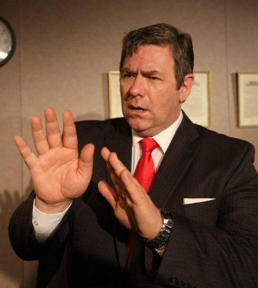 Ian Grieve as Gordon Brown