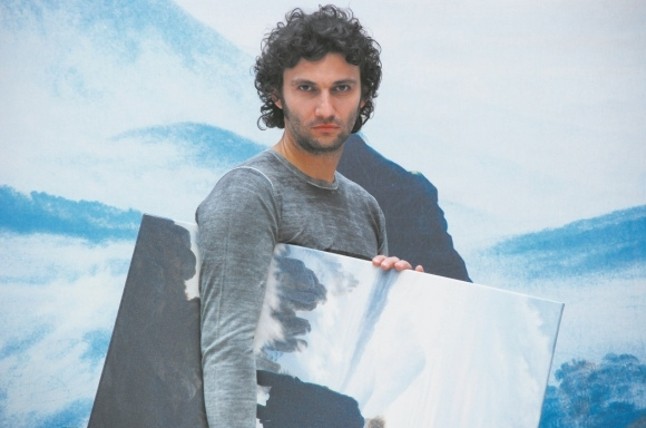 Jonas Kaufmann off-duty. For Simon Thomas it's all about the voice.