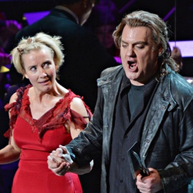Emma Thompson and Bryn Terfel in Sweeney Todd in New York earlier this year