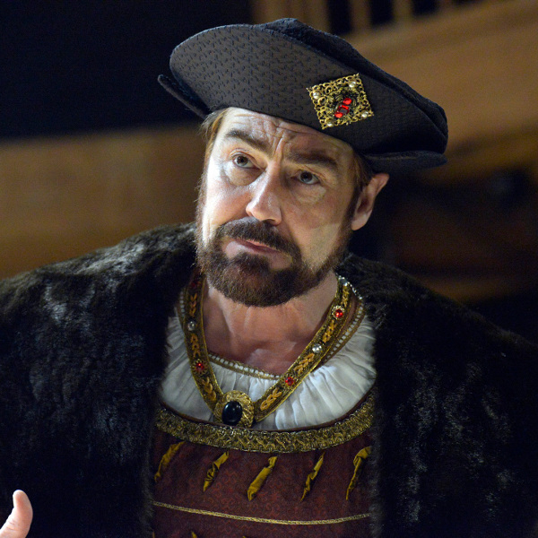 Nathaniel Parker as Henry VIII in Wolf Hall