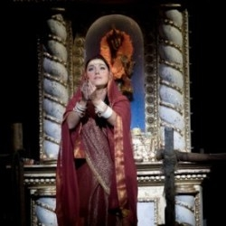 Sophie Bevan as Leïla in  The Pearl Fishers (ENO)
