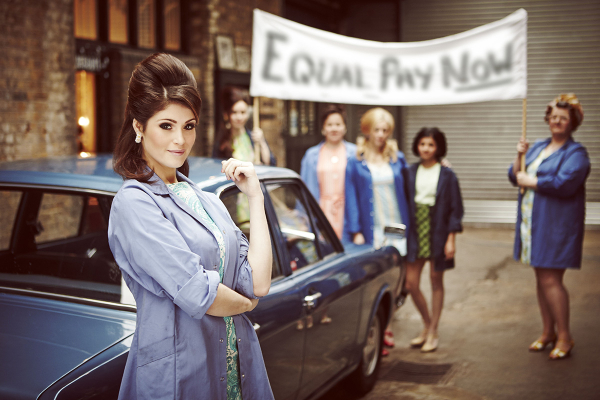 Striking performance: Gemma Arterton stars in Made in Dagenham