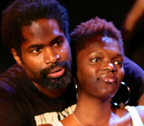 Ako Mitchell and Sheila Atim in Klook's Last Stand