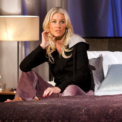 Media darling: Denise Van Outen