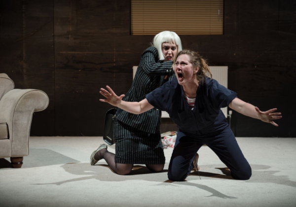 Scarlett Brookes and Ruth Gemmell in Abi Zakarian's This is Not an Exit