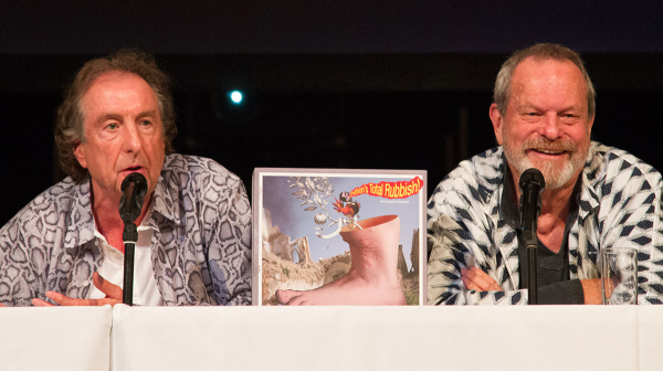 'Our motto is leave them wanting less' - Eric Idle and Terry Gilliam