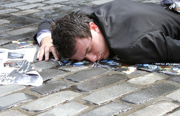 Read our survival guide to avoid ending up like this poor chap