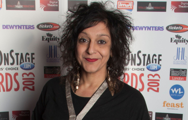 Meera Syal at the 2013 WhatsOnStage Awards