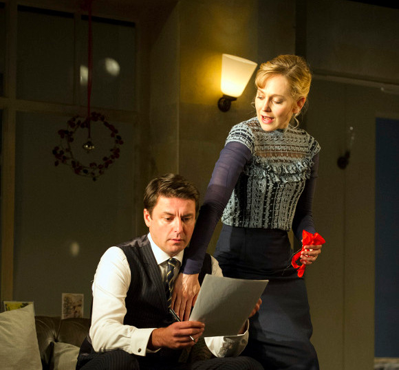 Dominic Rowan starred opposite Hattie Morahan in A Doll's House