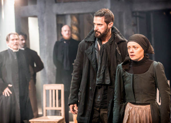 'Gallant good looks and some physical power' - Richard Armitage plays John Proctor