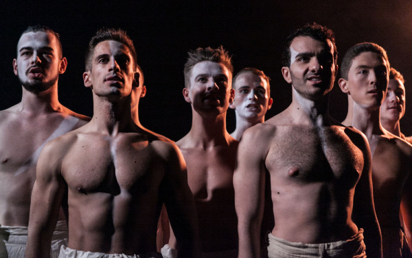'An all-male, white face kabuki affair' - The cast of Pacific Overtures
