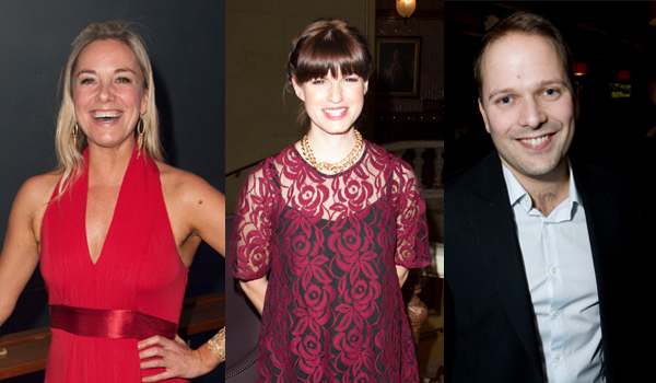 Tamzin Outwaite, Jemima Rooper and Nicholas Burns