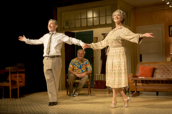 Harry Shearer, Oliver Cotton and Maureen Lipman in Daytona
