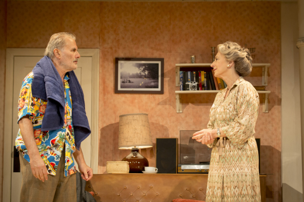 Olivier Cotton (Joe) and Maureen Lipman (Elli) in Daytona