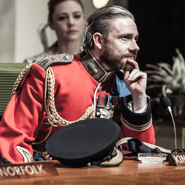 Martin Freeman as Richard III