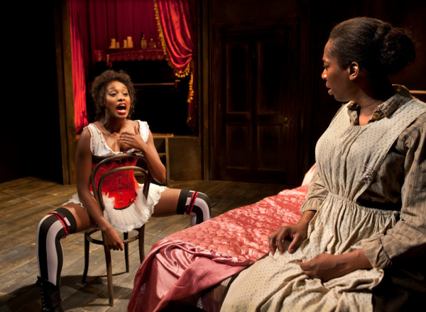 Rochelle Neil and Tanya Moodie in Intimate Apparel