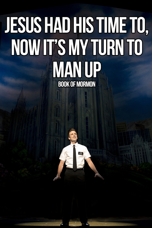 Book Of Mormon Quotes Alluring 10 Of The Funniest Lines From A Musical  Whatsonstage