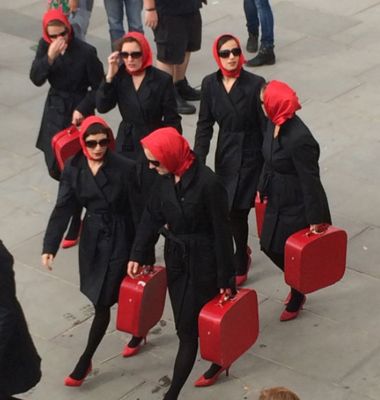 Mapping the city: Clod Ensemble's Red Ladies