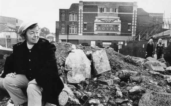 'She always said we didn't have enough fun in England'. Joan Littlewood at the Theatre Royal, Stratford East